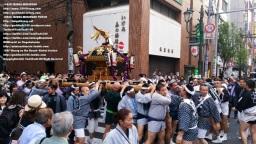 湯島天満宮例大祭、神輿