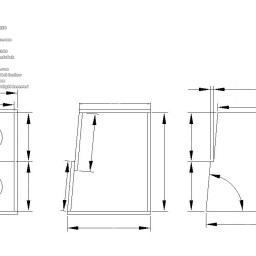 新しい自作スピーカーの図案&雑談